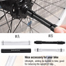 Durable Bicycle Thru Axle Hub 15mm-12mm/12mm-9mm Quick Release Skewer Adapter