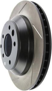 Disc Brake Rotor-Sport Slotted Brake Disc Rear Right Stoptech 126.33078SR