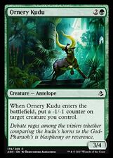 Ornery Kudu NM X4 Green Common Amonkhet MTG