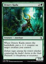 Ornery Kudu NM X4 Green Common Amonkhet MTG