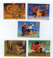 GB Stamps 1998. SG2050-2054 Famous Children's Fantasy Novels as per general scan