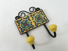 Hanger Iron Ceramic Tile Hook For Cloth Hanging Key Hanger Vintage Look