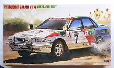 HASEGAWA CR-6 1/24 Mitsubishi Galant VR-4 1992 Safari rally rare scale model kit