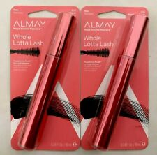 (2) Almay Whole Lotta Lash Mega Volume Mascara #010 Blackest Black
