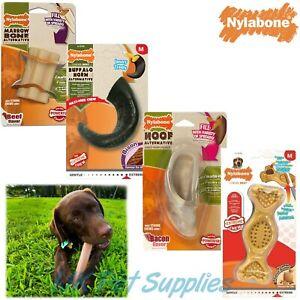 Nylabone Nylon Bone Fill with Treats Dog Tough Dental Chews Toys