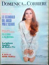 La Domenica del Corriere 6 Maggio 1969 Padre Pio Cerruti Viareggio Infarto Luna
