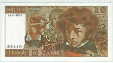 BILLET 10 FRANCS BERLIOZ J 6 11 1975 J 65440 B 253