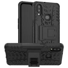 For Samsung Galaxy A10s Case AMZER Warrior Dual Layer Cover with Stand