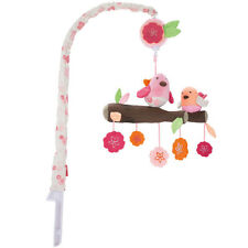 New Skip Hop Springtime Birdie Wall Musical Cot Mobile - Free Express Shipping