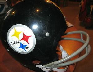 PITTSBURGH STEELERS NFL FOOTBALL VINTAGE THROWBACK YOUTH RAWLINGS HELMET(medium)