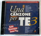 VARIOUS ARTISTS - UNA CANZONE PER TE 3 - RDS - CD Sigillato