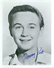 Tommy Kirk signed 8X10 photo Disney COA