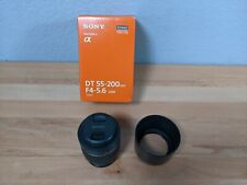 *Read* SONY DT 55-200mm f4-5.6 SAM Lens SAL55200-2 A Mount