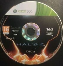 Halo 4 (Xbox 360, 2012) DISC 2 ONLY Game disc with cover art unboxed PAL Region
