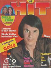 Hit Magazine n° 5 Juin 1972 Adamo, Sheila, Ringo, Claude François, Bronson, etc