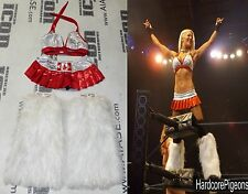 Angelina Love 4x Signed TNA Knockout Ring Worn Canada Gear PSA/DNA COA Autograph