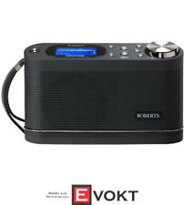 ROBERTS Stream 104 Internet Radio (FM, DAB, DAB +, Black)