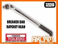 "TOLEDO 321250  BREAKER BAR RATCHET HEAD 1/2"" SQ. DR. ADJUSTABLE LENGTH 420-610MM"