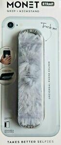 MONET PHONE GRIP KICKSTAND STRAP FURRY #phoneholder #phonegrip #phonekickstand
