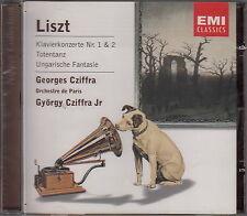 Cziffra / LISZT : Klavierkonzerte 1+2 (EMI; NEU!)