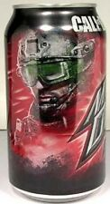 EMPTY UNOPEN 12oz Can Mountain Dew Call of Duty Game Fuel Citrus Cherry USA 2011
