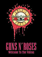 * Guns N' Roses - Welcome to the Videos (DVD, 1998) Very Good Condition *