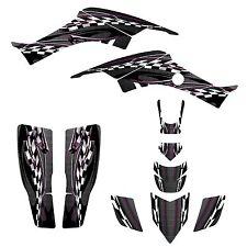 Honda TRX 400EX Graphics kit for 1999 - 2007 Black Plastics #2600-Pink