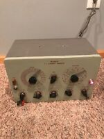 Vintage HEATHKIT T.V.  Alignment Generator Powers On.