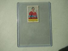 1969/70 O-PEE-CHEE 4-IN-1 MINI STAMP HOCKEY INSERT CARD YVAN COURNOYER NICE OPC