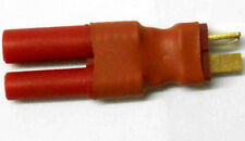 C0023A RC Connector Male Female Adapter T-Plug Male to Red Housing Female