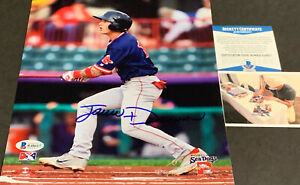 Jarren Duran Boston Red Sox Autographed Signed 8x10 Photo BECKETT ROOKIE COA -