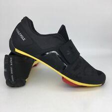 Pearl Izumi Soul Legend Cycling Shoes Black Yellow 3 Bolt Hook Loop Women EU 40