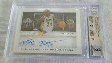 2013-14 Innovation Main Exhibit Signatures Kobe Bryant #15/25 BGS 9/10