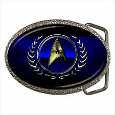 NEW* HOT STAR TREK BADGE Quality Chrome Belt Buckle Gift D01