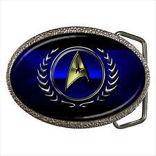 NEW* HOT STAR TREK BADGE Quality Chrome Belt Buckle Gift D01