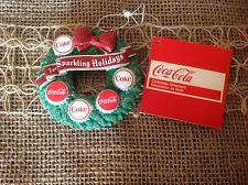 Coca Cola Bear Christmas Ornament. Great Details.  New Old Stock