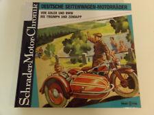 Deutsche Seitenwagen Motorräder * Adler & BMW bis Triumph & Zündapp * Schrader
