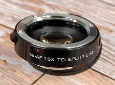 Sony Alpha A DIGITAL fit Teleplus 1.5x SHQ Mx-AF Convertor 8 PIN compatibility