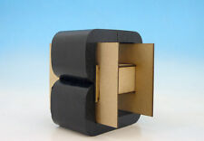 Double C-Core Output Transformer Dual Pressboard Silicon Steel Alloy Hi-Fi Audio