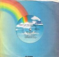 """NIK KERSHAW - I WON'T LET THE SUN GO DOWN ON ME - 7"""" 45 VINYL RECORD - 1983"""