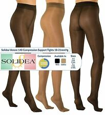 Patternless Synthetic Tights with Support for Women