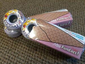 New Moxi Fundae Hybrid Park Outdoor Roller Skate Wheels set of 8 Lavender