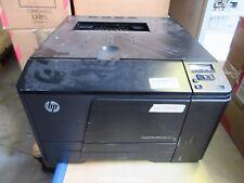 HP M251n CF146A  LaserJet Pro 200 Color Laserdrucker Drucker NETZWERK NO TONERS