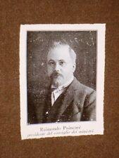 Raymond Poincaré nel 1913 Bar-le-Duc, 20 agosto 1860 – Parigi, 15 ottobre 1934