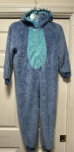 Authentic Disney Store Stitch Costume Pajamas Pj's Cosplay One Piece Unisex 7/8