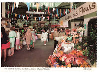 The Central Market, St. Helier, Jersey, Channel Islands Rare Postcard