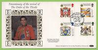 G.B. 1987 Scottish Heraldry set on Benham First Day Cover, Peterborough