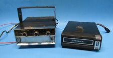 2 Vintage Car 8-Track Players - Sanyo & Tenna Ranger Rr-45T Mini-8 Audio Stereo