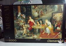 Clementoni 36515 - Puzzle 6000 pcs. Allegoria de lla vista e dell'olfato