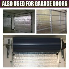 GARAGE DOORS HEAVY DUTY DOUBLE SILVER FOIL DOOR BUBBLE INSULATION 30m2 DIY